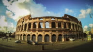 Rotating Timelapse of the Colosseum HD Video