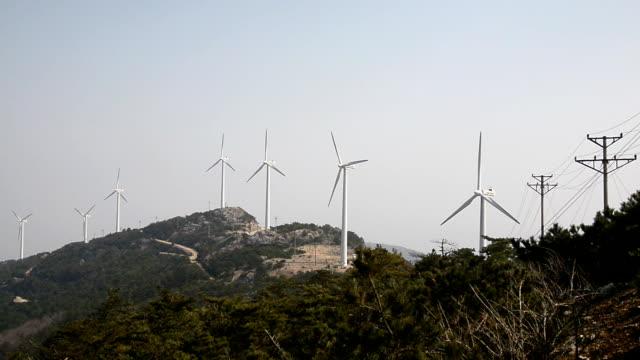 Rotating windmill wind farm