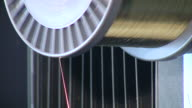 Rotating wire coil