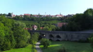 Rothenburg ob der Tauber and the Medieval Tauber Bridge
