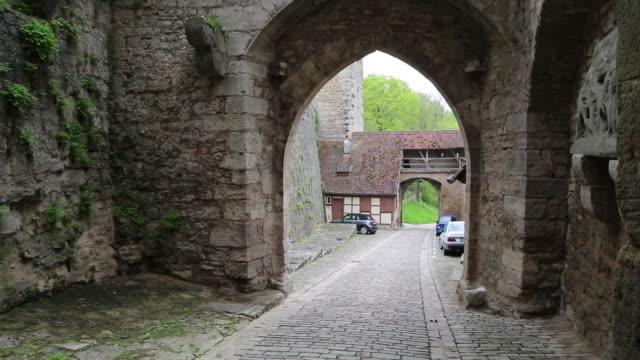 Rothenburg ob der Tauber, the Kobolzell gate