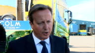 Early inspection of child protection services ordered ENGLAND EXT David Cameron MP interview SOT The reports from Rotherham are shocking and the...