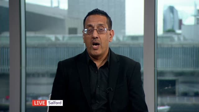 Police identify hundreds of suspects ENGLAND London GIR INT Nazir Afzal ' WAY interview from Salford SOT