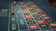 Roulette Table at Casino