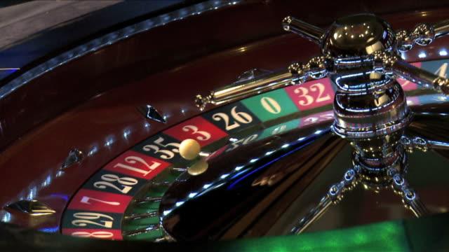 Roulette wheel spinning DM