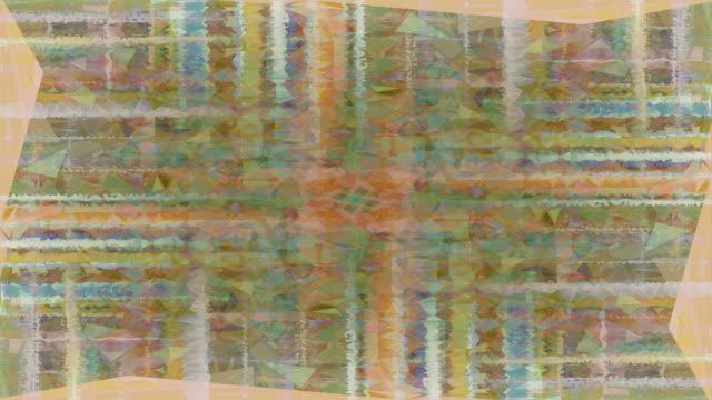 TRANSCENDENTA raka flöde: oförblommerat, färgglada (LOOP)