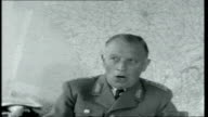 Germany Rearmed INT Chairman of the German Combined Chief of Staff interview SOT Talks about the forces and what is expected from a soldier / talks...