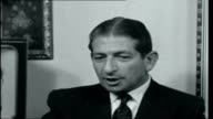 Malta INT Georgio Borg Olivier interview SOT explains why he supports Goverment resolution to break with Britain / would like to see Britain honour...