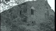 Virgins and Devils FRENCH GUIANA Devil's Island Ruined abandoned old penal colony buildings gradually being taken over by the jungle vegetation and...