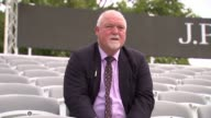 Row over Lord's future pits former captains on opposing sides ENGLAND London Lord's Cricket Ground EXT Mike Gatting set up shots / interview SOT