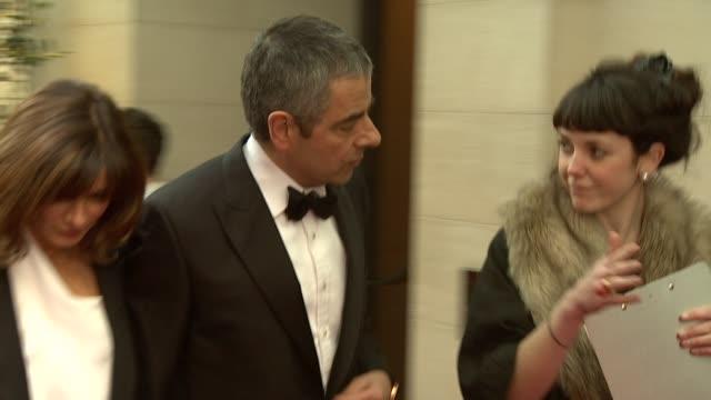 Rowan Atkinson at the 2010 Laurence Olivier Awards at London England