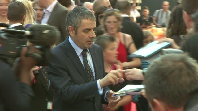 Rowan Atkinson at the Johnny English Reborn UK Premiere at London England