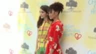 Rowan Blanchard and Storm Reid at the Children Mending Hearts 9th Annual Empathy Rocks on June 11 2017 in Los Angeles California