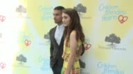 Rowan Blanchard and Wilmer Valderrama at the Children Mending Hearts 9th Annual Empathy Rocks on June 11 2017 in Los Angeles California