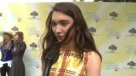 INTERVIEW Rowan Blanchard on why she thinks empathy rocks at the Children Mending Hearts 9th Annual Empathy Rocks on June 11 2017 in Los Angeles...