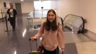 INTERVIEW Rowan Blanchard talks about her book club with Brie Larson while departing at LAX Airport in Los Angeles in Celebrity Sightings in Los...