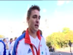 Rower Pete Reed comments on success in Beijing 2008 Olympic Games