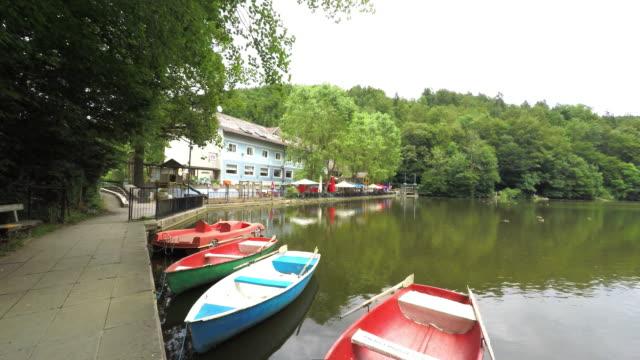 Rowing Boats on Lake Thal