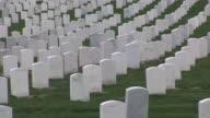 MS, PAN, Rows of gravestones, Arlington National Cemetery, Arlington, Virginia, USA