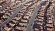 AERIAL Rows of tract housing