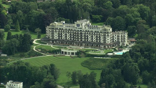 AERIAL Royal Hotel, Evian-les-bains, Rhone Alpes, France