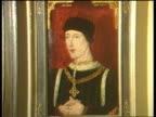 Royal portraits on display for the first time Various portraits of Kings and Queens including Anne Boleyn Henry V Queen Elizabeth II Queen Mother...