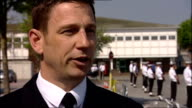 Military preparations ENGLAND Hampshire Fareham EXT Lieutenant Steve Clarke interview SOT A great feeling / Feel very proud and honoured to be part...