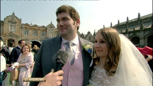 Royal wedding of Prince William and Kate Middleton ITV News Special PAB 1330 1430 STUDIO Julie Etchingham and Philip Schofield Reporter Matt Smith 2...