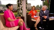 Royal wedding of Prince William and Kate Middleton ITV News Special PAB 1430 1530 STUDIO Curry interview SOT EXT Prince Charles and Camilla arriving...