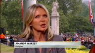 Royal wedding of Prince William and Kate Middleton ITV News Special PAB 1330 1430 STUDIO Julie Etchingham and Philip Schofield Amanda Wakely and...