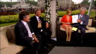 Royal wedding of Prince William and Kate Middleton ITV News Special PAB 1430 1530 INT Charlie Mayhew and Anthony Lawton interview SOT