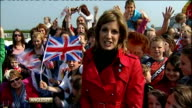 Royal wedding of Prince William and Kate Middleton ITV News Special PAB 1430 1530 STUDIO Etchingham and Schofield Etchingham and Schofield / Andrea...