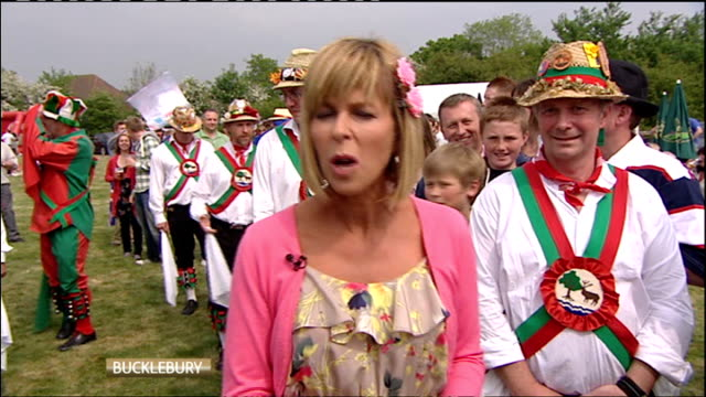 Royal wedding of Prince William and Kate Middleton ITV News Special PAB 1430 1530 Berkshire Bucklebury EXT Kate Garraway LIVE Daughters of Bucklebury...