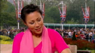 Royal wedding of Prince William and Kate Middleton ITV News Special PAB 1430 1530 STUDIO Curry interview SOT