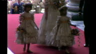 Royal wedding of Prince William and Kate Middleton ITV News Special PAB 0825 0930 **Habro interview overlaid SOT** 29 July 1981 St Paul's Cathedral...