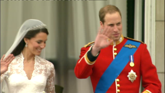 Royal wedding of Prince William and Kate Middleton ITV News Special PAB 1230 1330 Prince William Duke of Cambridge and Catherine Duchess of Cambridge...