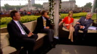 Royal wedding of Prince William and Kate Middleton ITV News Special PAB 1330 1430 Reporter Matt Smith 2 WAY from St Andrews in Scotland STUDIO Julie...