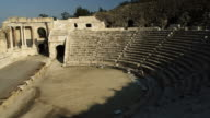 Royalty Free Stock Video Footage of theater at Beit She'an shot in Israel at 4k with Red.