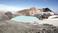 Ruapehu Crater Lake, New Zealand