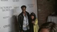 DJ Ruckus and Zoe Kravitz at the Victoria's Secret Hosts Exclusive 2009 What is Sexy List Party at New York NY