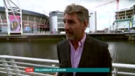 Rugby World Cup 2015 Home Nations' hopes WALES Cardiff EXT Andy Moore interview SOT