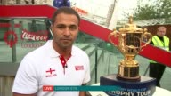 Rugby World Cup 2015 Trophy tour London GIR INT Robinson LIVE 2WAY interview from London Eye SOT