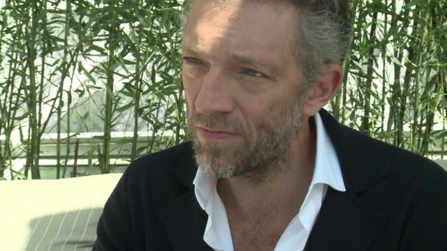 Rugged French actor Vincent Cassel who stars in 'Mon Roi' by director Maiwenn in competition for the Palme d'Or tells AFP in an interview that he...