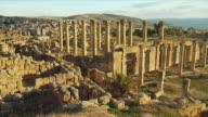 WS PAN Ruins of Roman Temple of Artemis / Jerash, Jordan