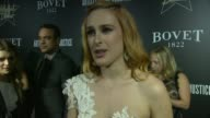 INTERVIEW Rumer Willis on the event at the 7th Annual Hollywood Domino Bovet 1822 Gala Benefiting Artists For Peace And Justice at Sunset Tower Hotel...