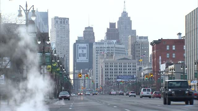 Run Down Detroit Stockshots on March 24 2013 in Detroit Michigan