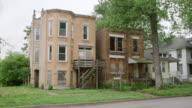 WS Run-down apartment buildings day