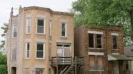 MS TU Run-down apartment buildings day