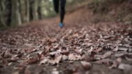Runner legs approaching camera