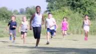 Running Around at Recess
